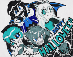 Happy Halloween 2016 by rongs1234