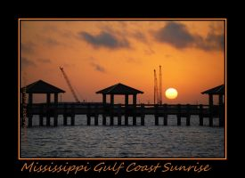 Mississippi Gulf Coast Sunrise by LadyAliceofOz