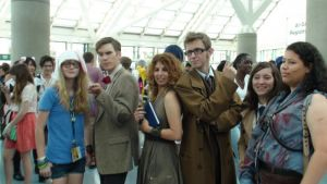 Cosplays of Adventure Time, Doctor Who, Evil Dead by trivto