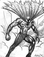 Spiderman 2099 Sketch by ANTOINE-X