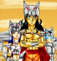 Elsewhere AU: The Wolf Clan by YamchaFan91