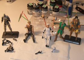 Star Wars Customs WIP 2 by Jedi-Mathyus