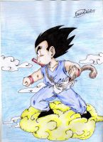 Goku kid 2 by tillo1980