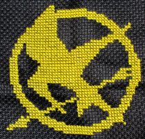 The Hunger Games by VickitoriaEmbroidery