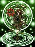 Shinri, Guardian of the Forest by kazemachi