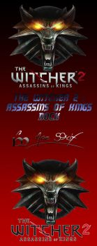 The Witcher 2 Dock Icon by MoeStrif