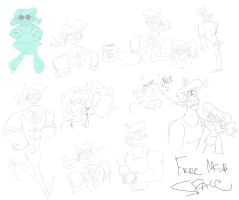 MSG sketch dump again by PaperBagHero