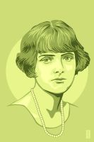 Daphne du Maurier by monsteroftheid