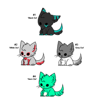 Chubby Critter Mix Adopts - Adopted by Feralx1