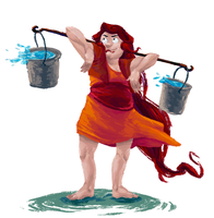 Water Bearer by Ironmary