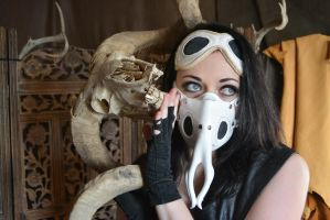 Parasite Mask and Goggles by SavagePunkStudio