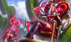 Heartseeker Ashe and Tryndamere by Sinthira666