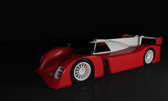 Work in progress LMP Sport car by davidfly