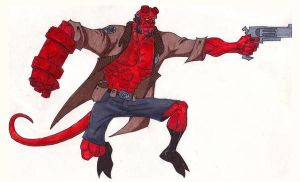 Hellboy by Kelden17