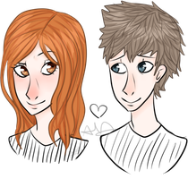 Amy and Rory by RandomCookieMonster2