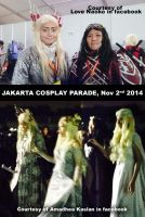 Cosplay Parade Jakarta by seawaterwitch