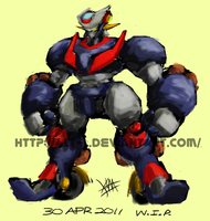 Mazinger Z Redesign 2011 by alt-L