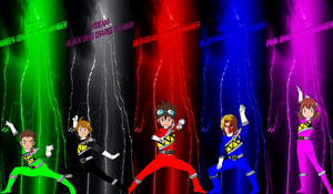 DigiFusion Hunter SM Dino Charge for Asrockrpg by rangeranime