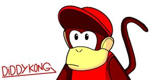 Diddy Kong by conkeronine