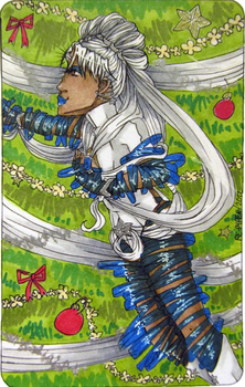 December ACEO: Coma Berenices by Re-Pyper