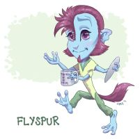 Chibi Flyspur by chill13