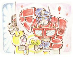 For Optimus Prime by BACBAC-MIKI