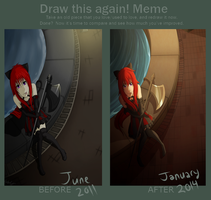 Before and After Meme: I've done this a lot by maple-flower