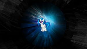 Vinyl Scratch Fractal Circle Wallpaper by uxyd
