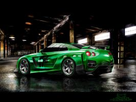 Nissan Skyline GTR pt2 by phareck