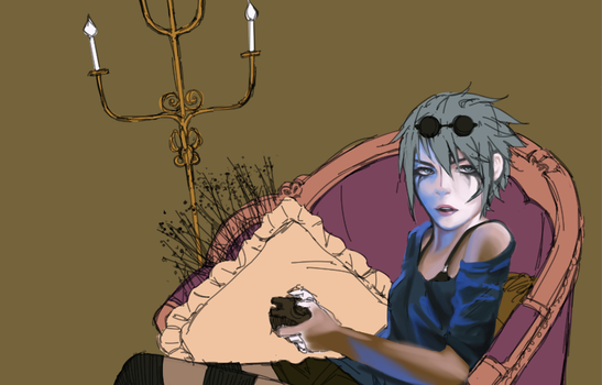 Grimes WIP by Kayllalla