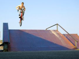Jon on BMX by LilPeteMordino