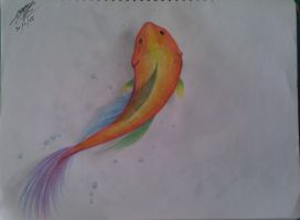 fish by wo0lfiitacullen