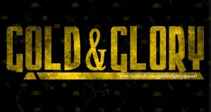 gold and glory apparel logo - 2 by AmenAvifail