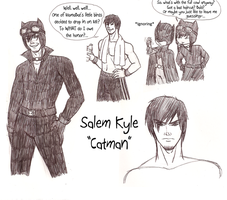 Salem Kyle, Catman by Gemkio