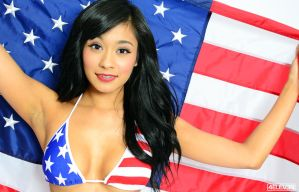 4th of July shoot with Claudia by 4ELEVEN-IMAGES