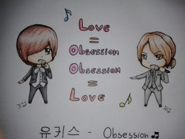 [U-KISS] Kiseop and AJ : Obsession~ by IperGiratina98