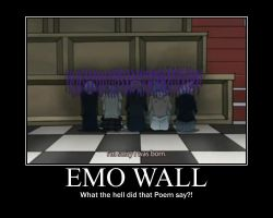 Emo Wall by Conker-T-Squirrell