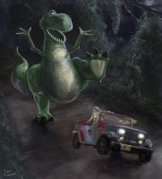 Jurassic Story by xben