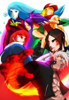 King of Fighters by DarroldHansen