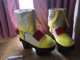 Saber Marionette J: Lime Cosplay Shoes by bl4ckr41nb0w
