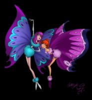 Bluth's Butterflies by enigmawing