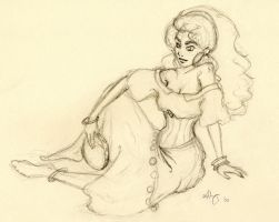 Esmeralda sketch by Lyvyan