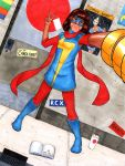 Ms. Marvel by graphitist