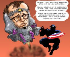 TLIID March MODOK Madness Woody Allen by Nick-Perks