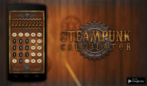 Steampunk Calculator [Android App] by NickPolyarush