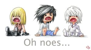 Oh Noes Death Note by K-6