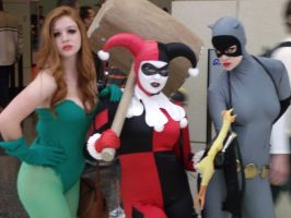 Gotham City Sirens @ C2E2 2012 by MonkeySquadOne