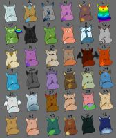 CHEAP Spam cat adoptables(sold) by xXNuclearXx