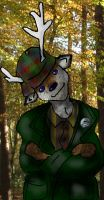 Pub Guy - Deer by alicelights