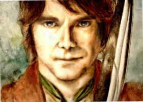 Bilbo Baggins by superpsyduck